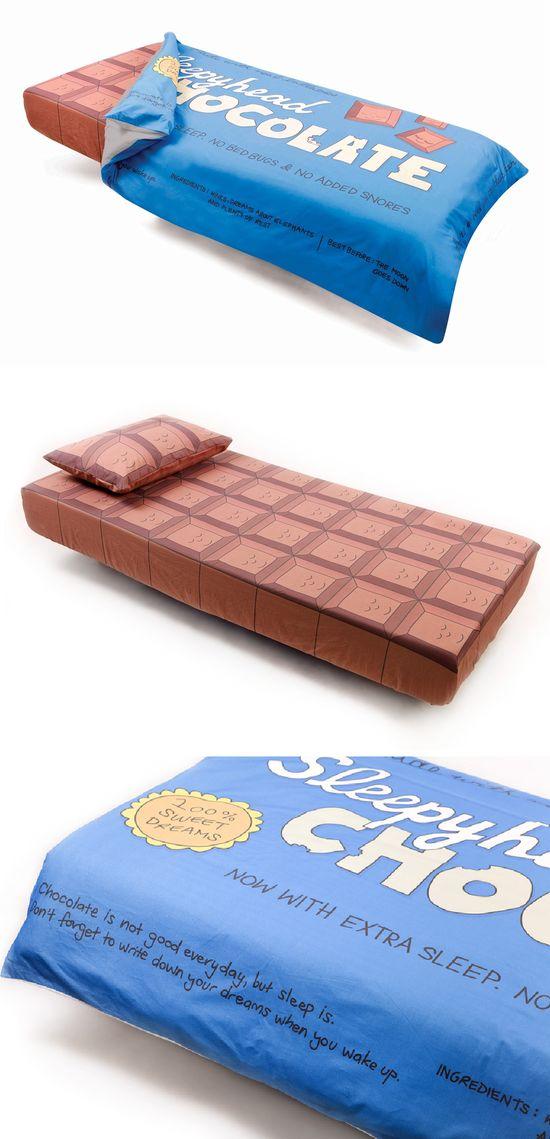 Chocolate bed set