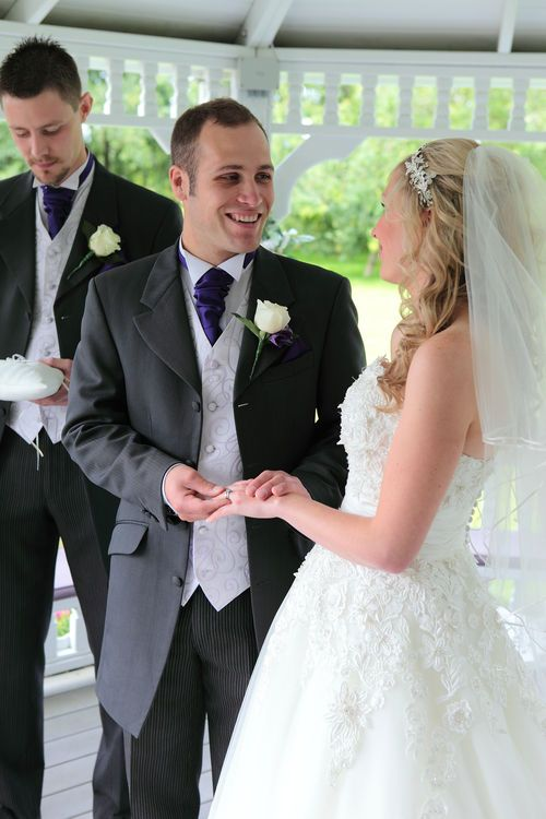 Wedding images at The Old Kent Barn