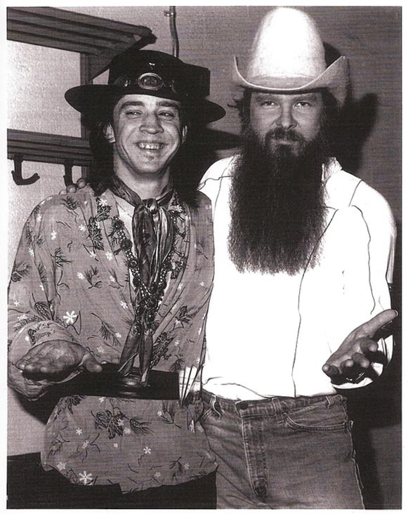 Stevie Ray Vaughan and Billy Gibbons. Thank you Texas!