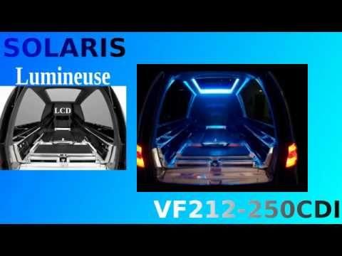Limousine SOLARIS, la plus lumineuse des limousines funéraires, écran LCD et son pour immortaliser le dernier voyage. bergadana.com France AUTOFUNER autofuner.com http://corbillards.agence-presse.net/ autofuner.com