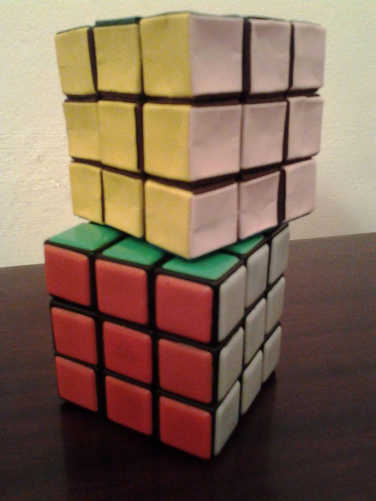 Origami Rubik's Cube