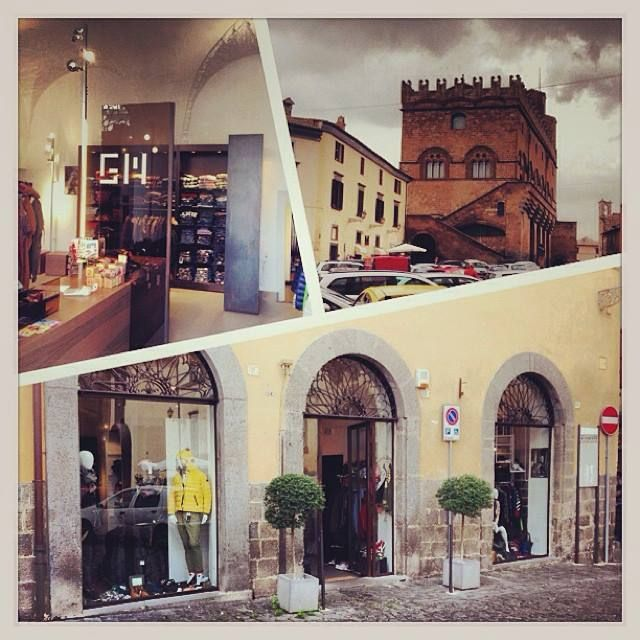 Our shop in Piazza del Popolo, Orvieto Italy