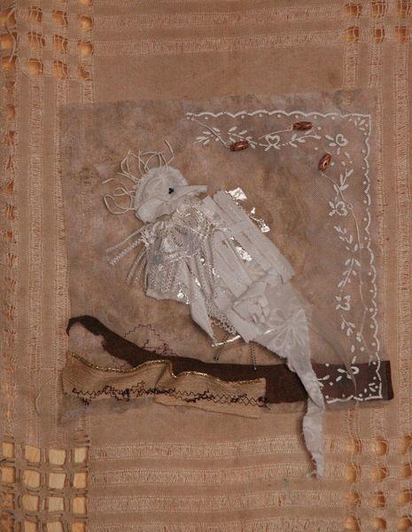 Art textile; oiseau