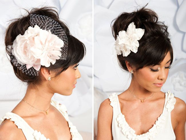 headband fleuris
