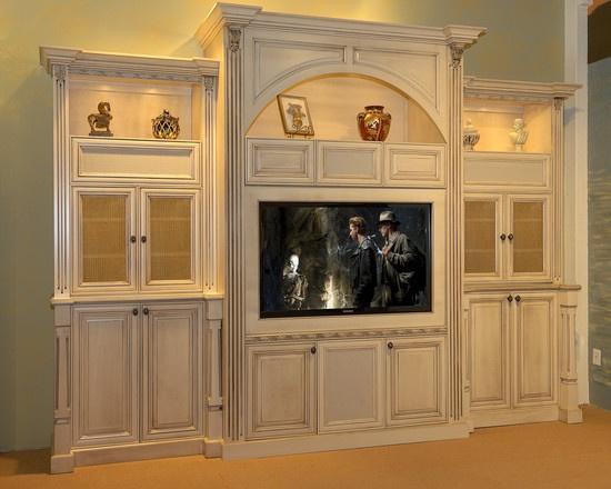Best Entertainment Centers Images On Pinterest Center Ideas - Built in cabinets entertainment center design pictures remodel