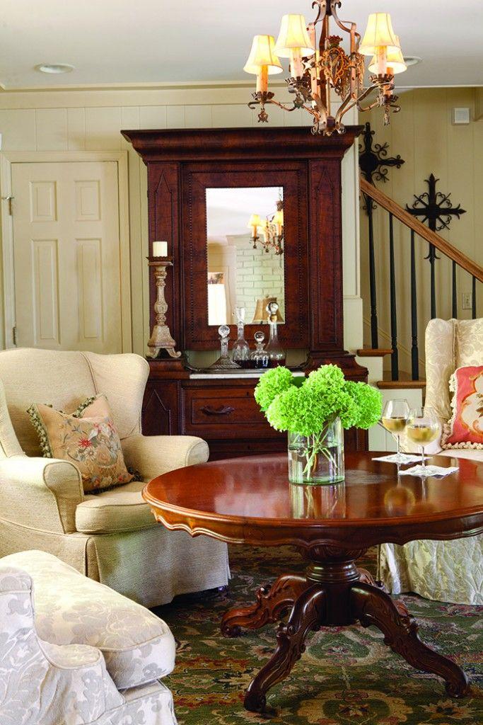 Cottage Charm · Dream RoomsSitting RoomsFlower ArrangementsGood IdeasRoom  DecorFamily ...