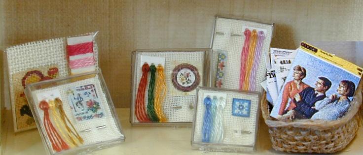 MINI DESIGN: Cross Stitch Kits  Translates from Dutch