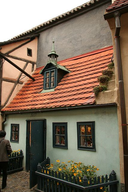 Golden Lane, Prague Castle Grounds, Czech Republic