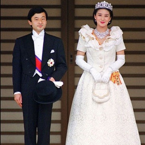 The wedding of Naruhito, Crown Prince of Japan, and Masako Owada, 9 June 1993. - @princess_monaco- #webstagram