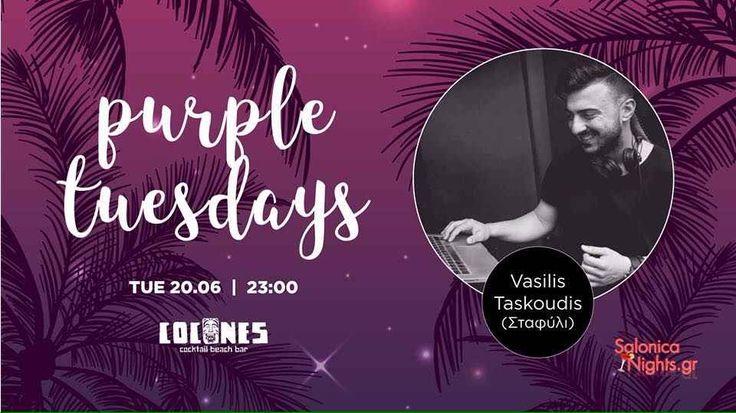 Purple Tuesdays @ Cocones Beach Bar 20/6