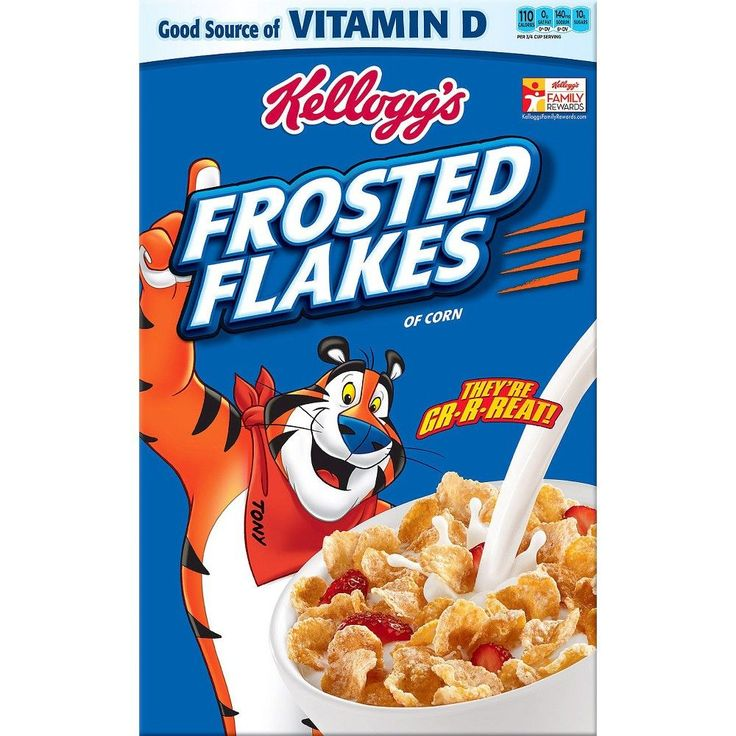 Kellogg's Frosted Flakes Cereal 19 oz