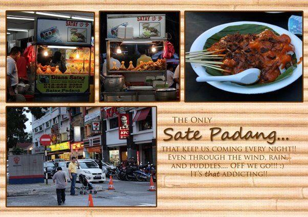 Our favorite sate padang in Subang, Malaysia