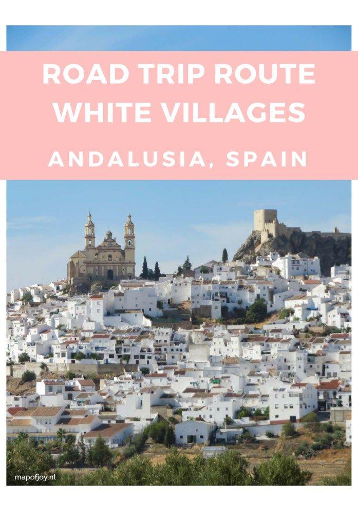Een roadtrip langs de witte dorpjes van Andalusië? Lees dit artikel met een route en tips.