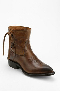 Frye Billy Cross Stitch Ankle Boot