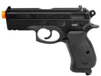 ASG CZ 75D CO2 Compact Airsoft Pistol: Non-Blowback, Semi-Automatic #AirGuns #AirSoftGuns #AirGunAccessories