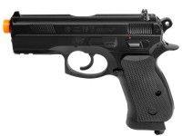 ASG CZ 75D CO2 Compact Airsoft Pistol: Non-Blowback, Semi-Automatic #AirGuns #AirSoftGuns #AirGunAccessories