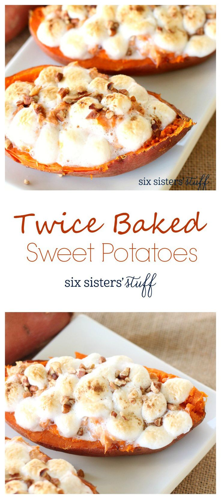 Twice Baked Sweet Potatoes | Six Sisters' Stuff