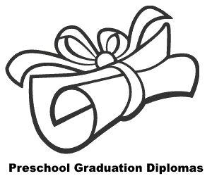 16 best Preschool diploma images on Pinterest  Graduation ideas