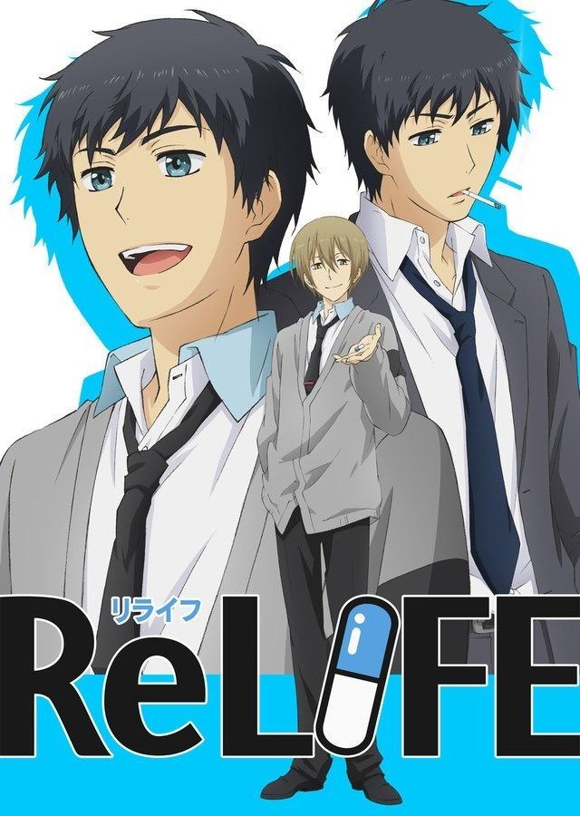 Wallpaper Hd Anime Relife Relife Anime Visual Relife انمي Download