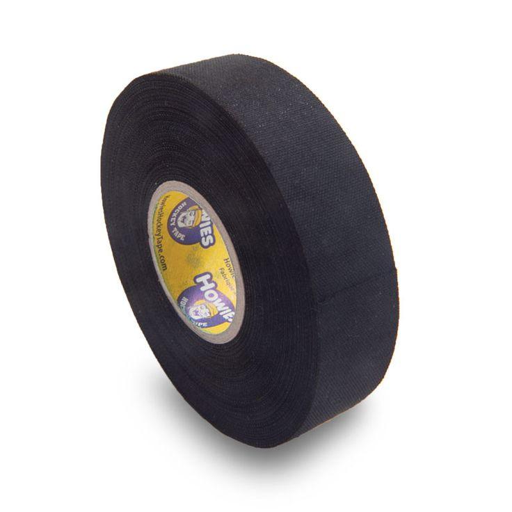 Howies Cloth Black Hockey Tape - 1.5 Inch