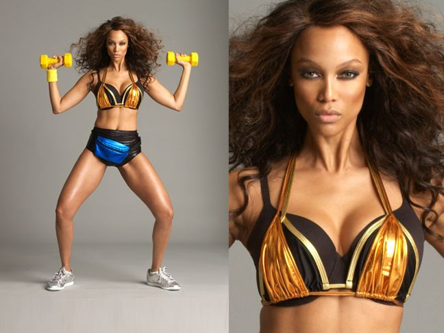 Tyra banks Workout and diet plan