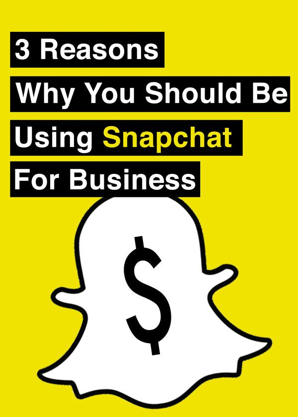 Curious if your business should be on #Snapchat or not?  Here are 3 reasons why you probably should: 1. Snapchat is a marketers dream come true (more details in article) 2. Snapchat's 100 million strong user-base is growing, and it's not going anywhere. 3. It shows your demographic you communicate like they do.