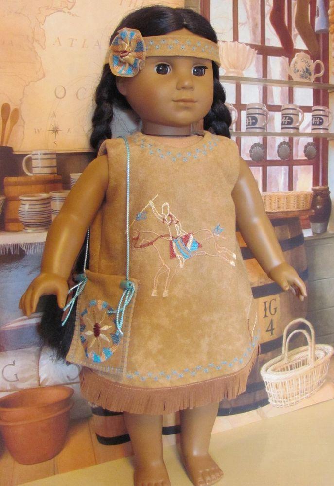 """Summer outfit for Kaya, American girl dolls. Gotz, My Twinn. 18"""" doll"""