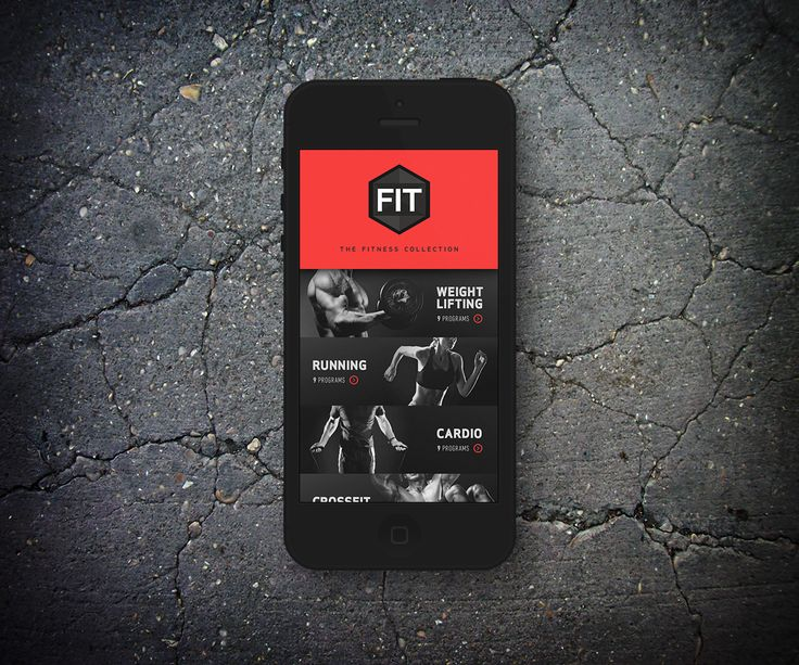 Gym App for FIT | Mobile Apps User Interface Design