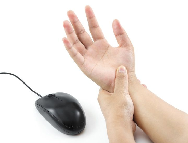 Try these tips to help reduce repetitive strain injuries.