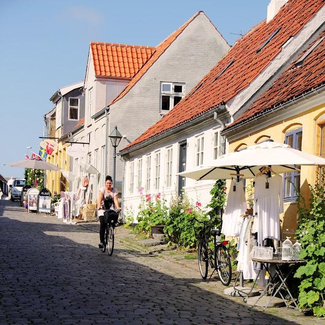 Æbeltoft, Denmark.