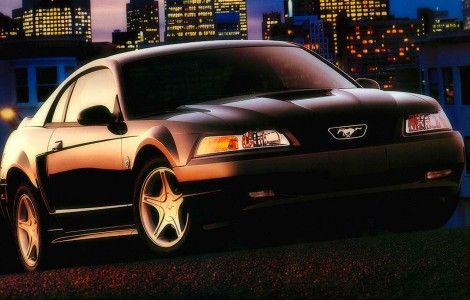 Ford Mustang New Black