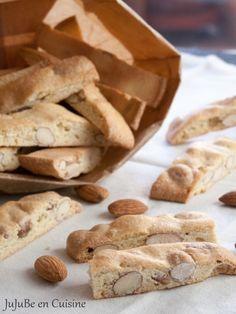 Croquants aux amandes - Croquants provençaux (sans beurre)