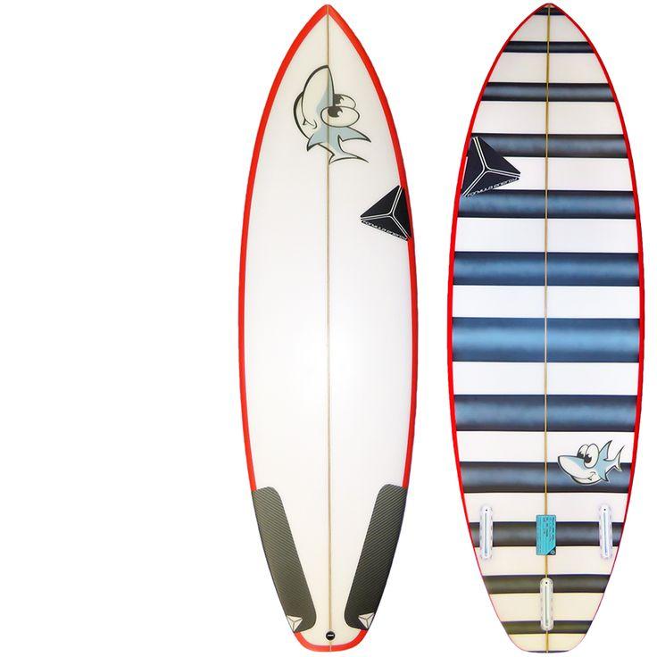 Custom short board #surfboard for a Byron Bay Grommet . 5'4 in length with original artwork all designed in house at Formula Energy #formulaenergysurf team