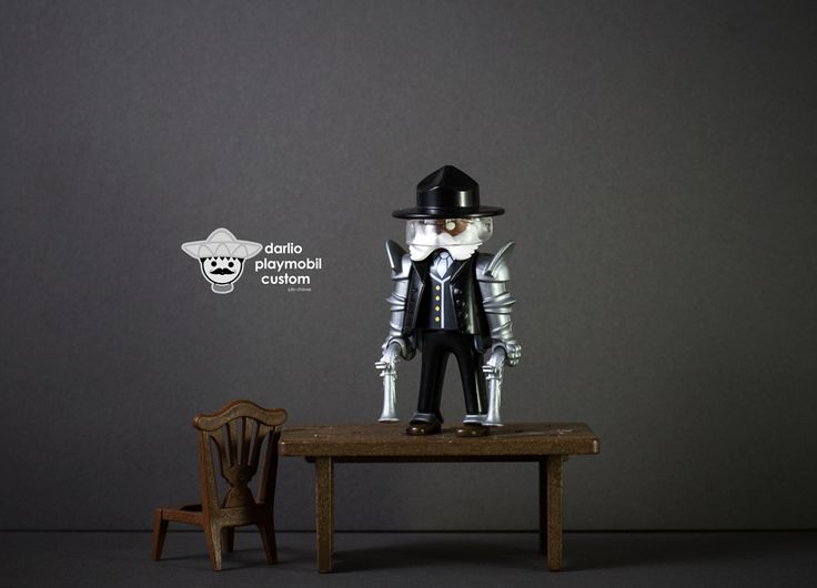 Bounty hunter Playmobil Custom