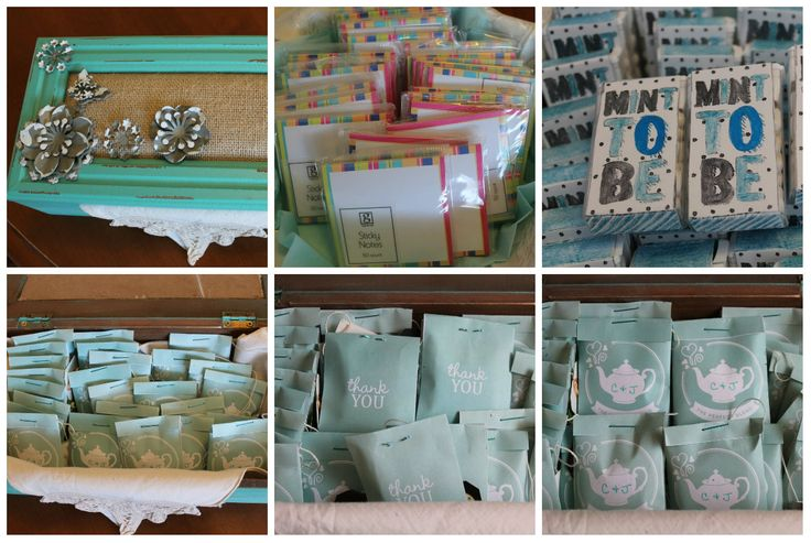 Turquoise themed Wedding Shower & tea party