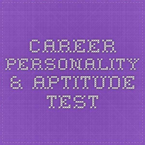 The 25+ best Career aptitude test ideas on Pinterest Job - career test free