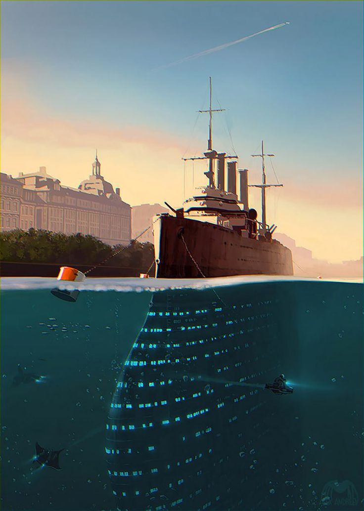 A Separate Reality: Concept Art by Alex Andreyev