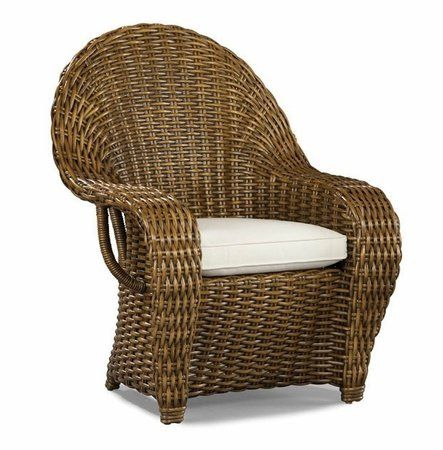 Veranda Wicker Dining Arm Chair   #wicker #chair #laneventure pin by wickerparadise.com
