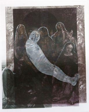 Sensing, collage, 26 x 21 cm, 2008