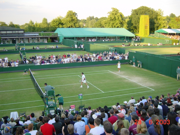 Singles at Wimbledon