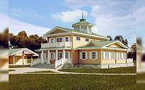 Проект деревянного дома из клееного бруса БадэнХаус, площадь 376 м2, 2 этажа, 3 спальни, фото 1