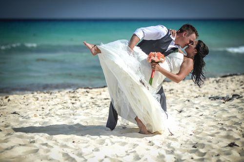 Sarah & Devon - Sandos Playacar - Mayan Riviera