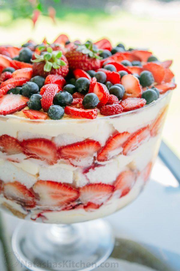 Superbowl Angel Food Cake