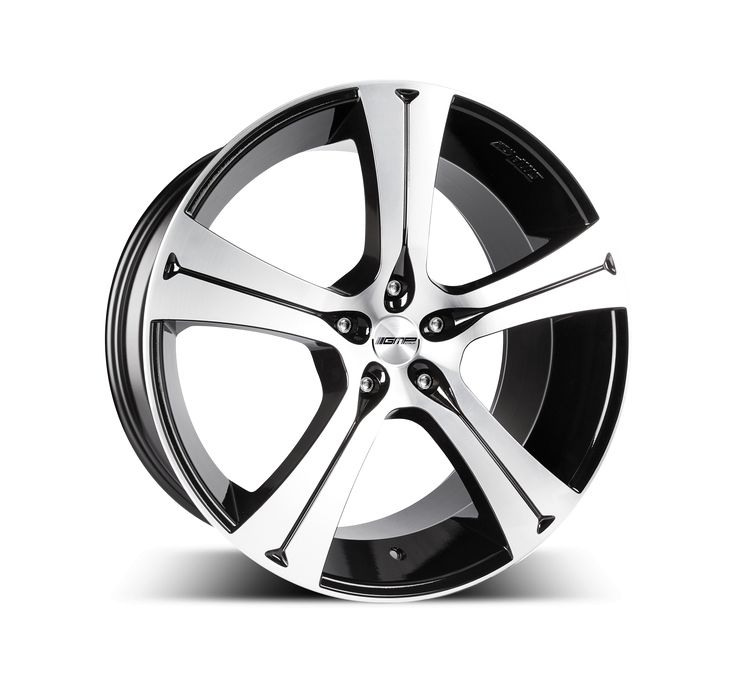 Buran Black Diamond Alloy wheel / Cerchio in lega Buran Nero Diamantato Side