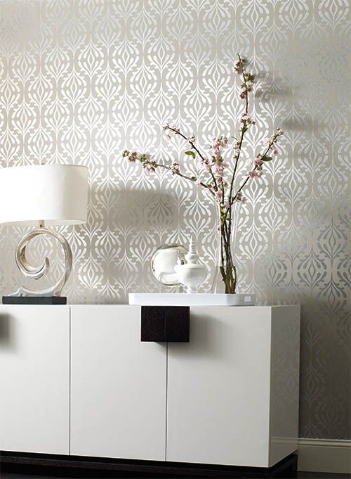 39 best dream design candice olson for york wallcoverings for Bathroom wallpaper wall coverings