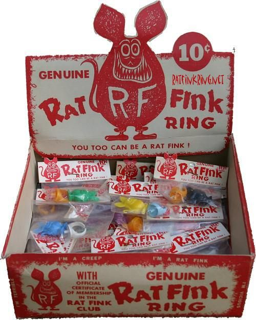 ❦ Big Dady Ed Roth's Rat Finks. I have one, now where did I put it?