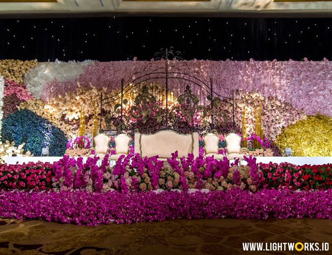 The wedding of Joseph and Sarah | Venue at Hotel Mulia | Decoration by Steve Decor | Organised by Irene IWP | Gown by Eddy Betty | Suit by Agus Lim | Photo studio by The Leonardi | Photography by Moreno Photography and Merwin Photography | Video by Axioo | Cake by Hanks Cakes | Entertainment by All Star Music Entertainment | Special Perfomance by Ruth Sahanaya | Flower arrangement for table setting by Pinkpeony.Co | Lighting by Lightworks