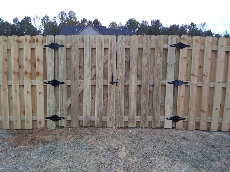 Pin by mcintyre fencing company on 2019 wood fencing