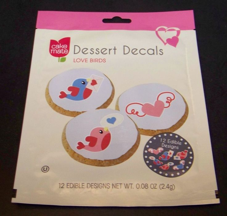 Cake Mate Edible Dessert Decals