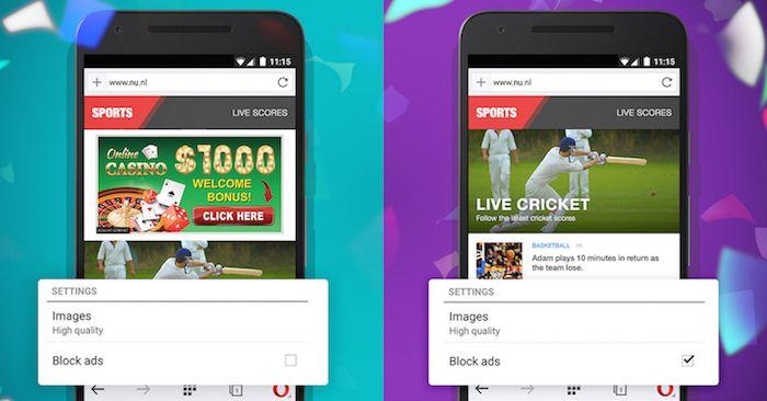 Opera Mini intègre désormais d'office un bloqueur de publicités - http://www.frandroid.com/android/applications/356848_opera-mini-bloqueur-de-publicite  #ApplicationsAndroid